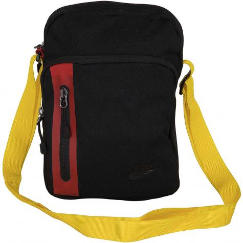 Nike Mini Tasche Tech Small Items schwarz/rot/gelb