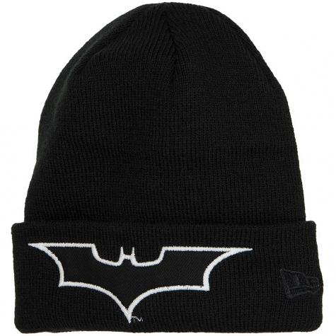 New Era Kinder Beanie Glow In The Dark Batman schwarz