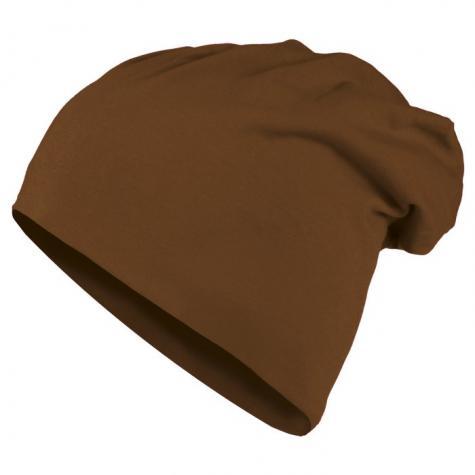 KMA Jersey Beanie brown