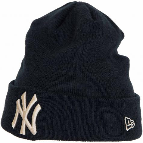 New Era Beanie League Essential Cuff NY Yankees dunkelblau