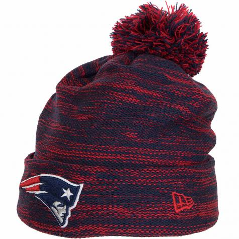New Era Beanie New England Patriots dunkelblau/rot