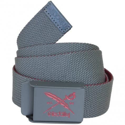 Iriedaily Flip the Side Belt anthracite/maroon