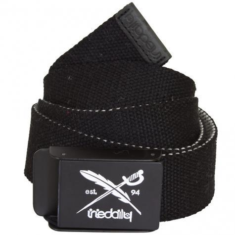 Iriedaily Flip the Side Belt black/white