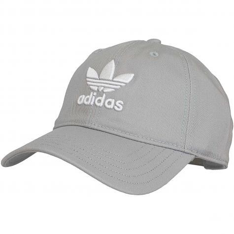 Adidas Originals Snapback Cap Trefoil grau
