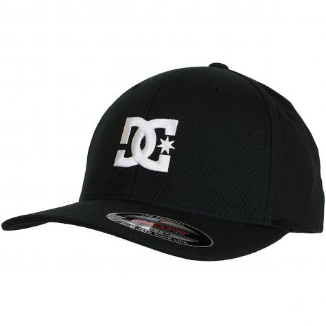 DC Shoes Flexfit Cap Star 2 schwarz