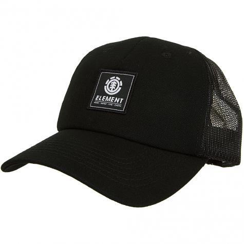 Element Trucker Cap Icon all schwarz