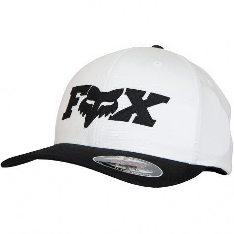 Fox Flexfit Cap Dun weiß