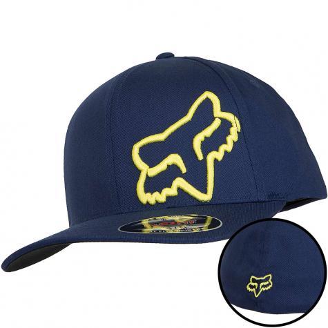 Fox Flexfit Cap Flex 45 navy/yellow