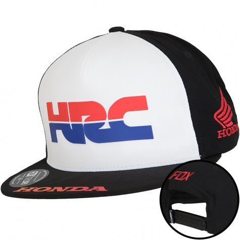 Fox Snapback Cap Pit Honda Racing Corp. schwarz