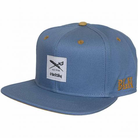 Iriedaily Daily Snapback Cap Flag 2 blau