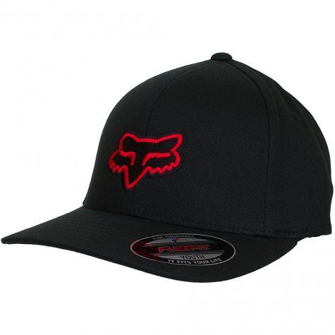Fox Head Kinder Cap Legacy schwarz/rot