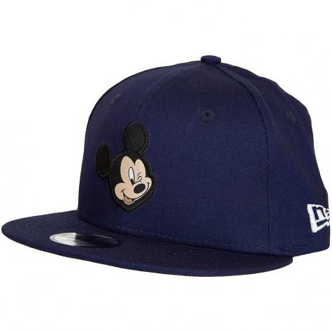 New Era 9Fifty Snapback Cap Disney Patch Mickey Mouse dunkelblau