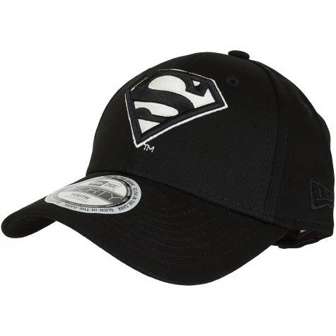 New Era 9Forty Kinder Snapback Cap Glow in the dark Character Superman schwarz