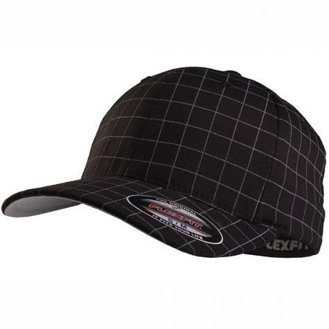 Flexfit Squareline Cap black/white