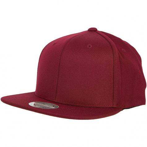 Mitchell & Ness Snapback Cap Flat Blank Own Brand weinrot