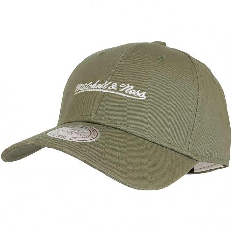 Mitchell & Ness Snapback Cap Low Pro Own Brand oliv