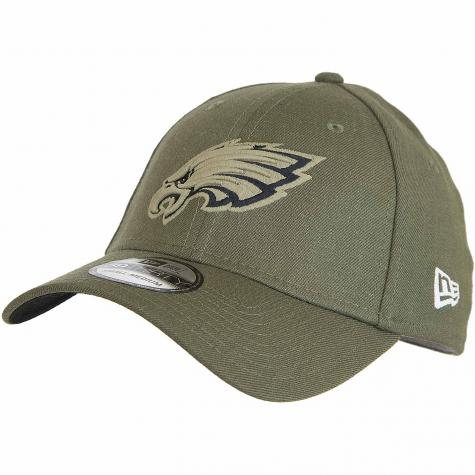 New Era 39Thirty Fitted Cap OnField 18 STS Philadelpia Eagles oliv