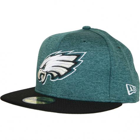 New Era 59Fifty Fitted Cap OnField Home Philadelphia Eagles grün/schwarz
