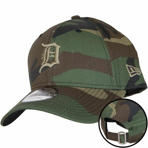 New Era 9Forty Snapback Cap Camo Essential Detroit Tigers camouflage