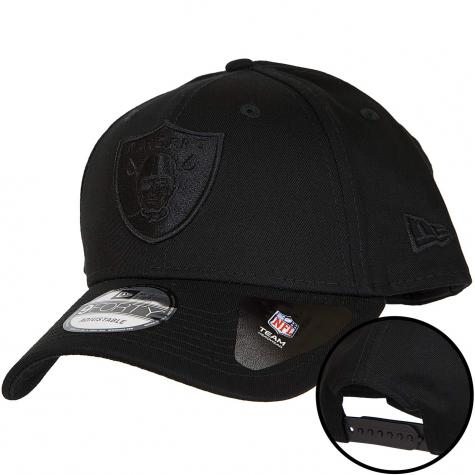 New Era 9Forty Snapback Cap Oakland Raiders schwarz/schwarz
