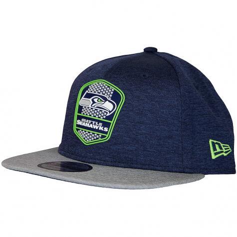 New Era 9Fifty Snapback Cap OnField Road Seattle Seahawks dunkelblau/grau