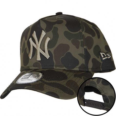 New Era Snapback Cap Camo A-Frame NY Yankees camo