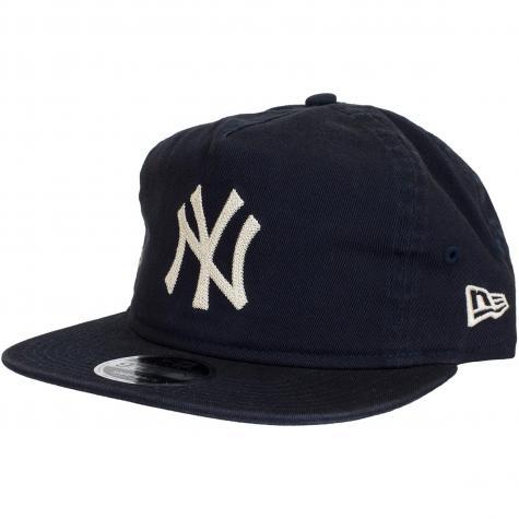 New Era 9Fifty Snapback Cap Chain Stitch NY Yankees dunkelblau