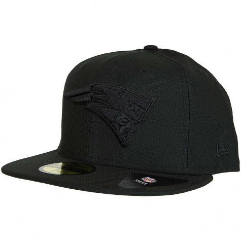 New Era 59Fifty Fitted Cap Diamond N.E.Patriots schwarz
