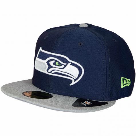 New Era 59Fifty Fitted Cap Dryera Tech Seattle Seahawks dunkelblau/grau