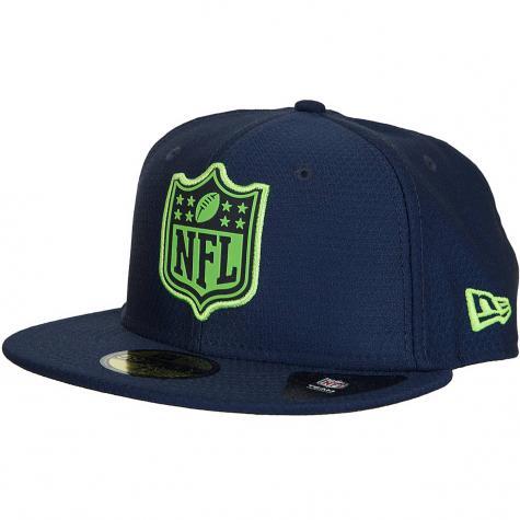 New Era 59Fifty Fitted Cap League Logo Seattle Seahawks dunkelblau