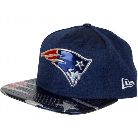 New Era 9Fifty Snapback Cap NFL 17 OnStage New England Patriots dunkelblau