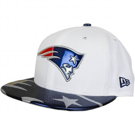 New Era 59Fifty Fitted Cap NFL17 OnStage New England Patriots weiß/dunkelblau
