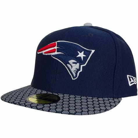 New Era 59Fifty Fitted Cap OnField NFL17 N.England Patriots dunkelblau/weiß