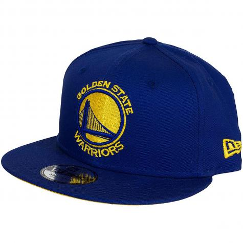 New Era 9Fifty Snapback Cap Team Classic Golden State Warriors dunkelblau