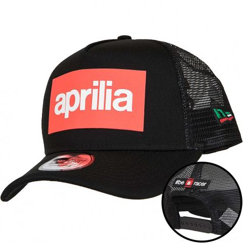 New Era Trucker Cap Aprilia schwarz