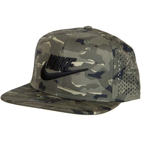 Nike Snapback Cap Aerobill Pro Tech khaki/schwarz