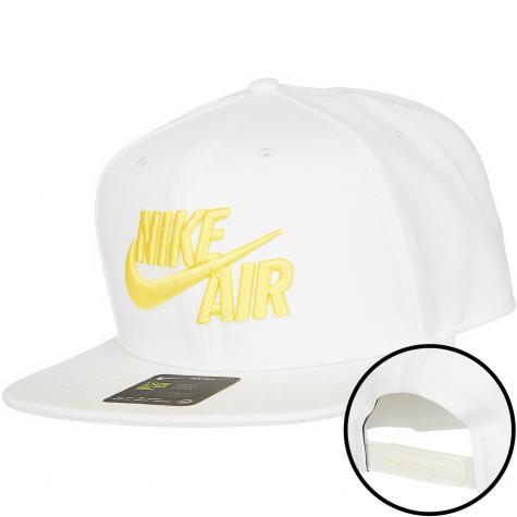 Nike Snapback Cap Air Classic Pro weiß/gold