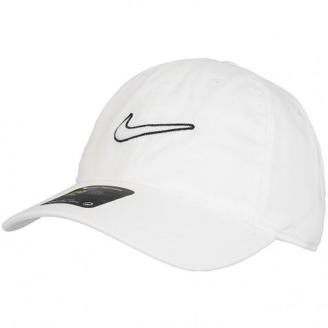 Nike Snapback Cap H86 Essential Swoosh weiß/weiß