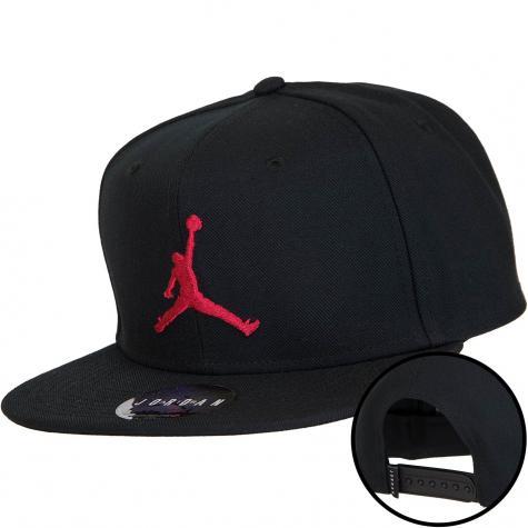 Nike Snapback Cap Jordan Jumpman Pro schwarz/rot