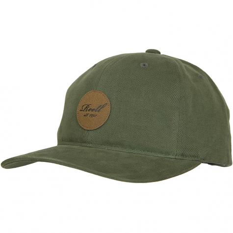 Reell Snapback Cap Curved oliv