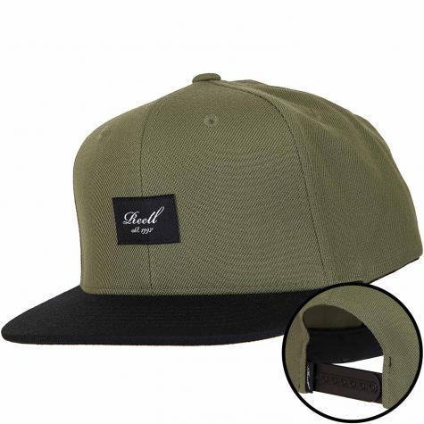Reell Snapback Cap Pitchout oliv/schwarz