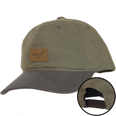 Reell Snapback Cap Tone oliv/grau