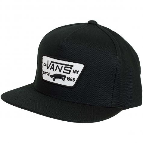 Vans Snapback Cap Full Patch schwarz