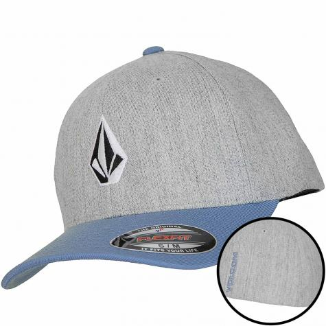 Volcom Flexfit Cap Full Stone vintage blue