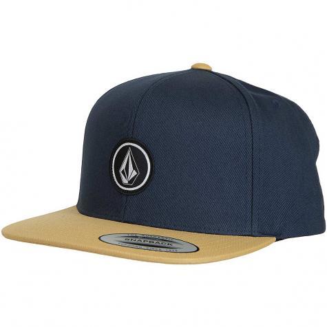 Volcom Snapback Cap Quarter Twill midnight blue