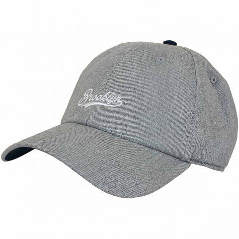 Cayler & Sons Snapback Cap CL Brooklyn Fastball grau
