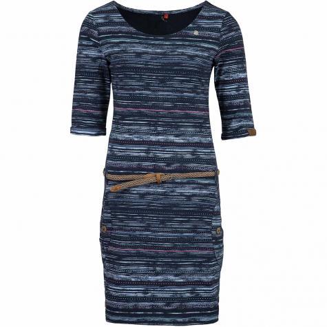 Ragwear Kleid Tanya Print dunkelblau