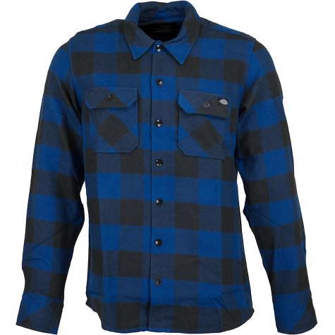 Dickies Hemd Sacramento blau
