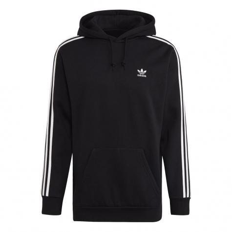 Adidas 3 Stripes Hoody schwarz