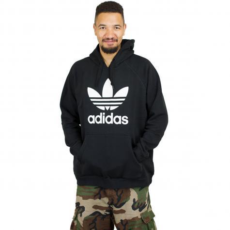 Adidas Originals Hoody Trefoil schwarz/weiß
